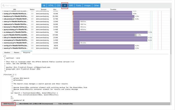 owncloud-js-performance