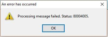 Error When Accepting A Meeting Invitation In Thunderbird