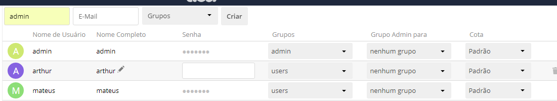 Can't login with some users  Fresh install - Server