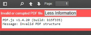 Invalid or corrupted PDF file - Server - ownCloud Central